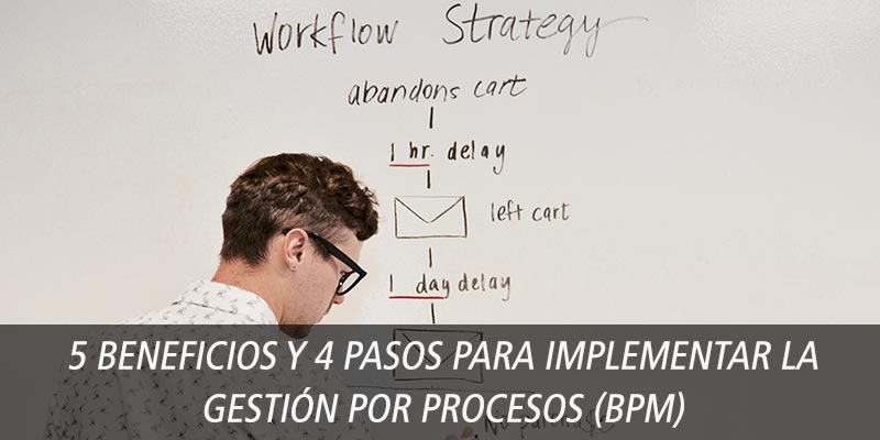 5 beneficios bpm 4 pasos