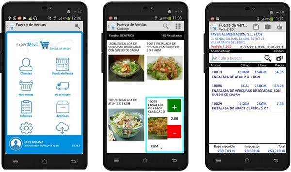 MOVILIDAD PARA LA PREVENTA / AUTOVENTA integrado con ERP Alimentacion en Cloud