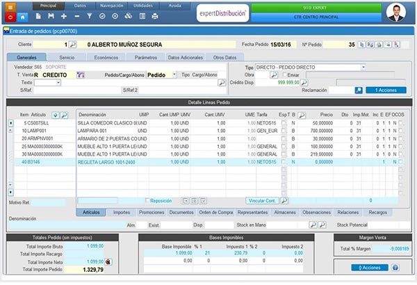 PORTAL E-COMMERCE  Integrado con ERP Cloud Distribucion