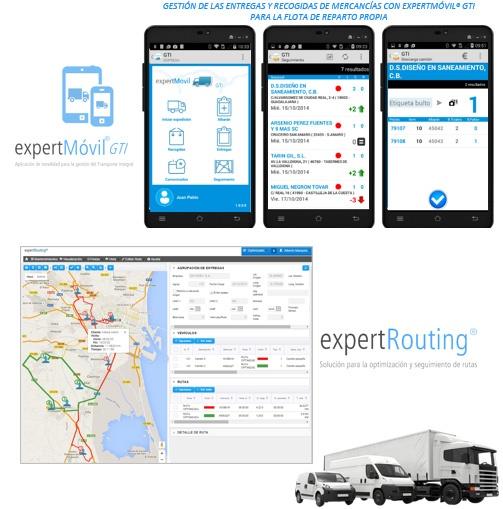 gestion del transporte integrado con  ERP Mueble en Cloud