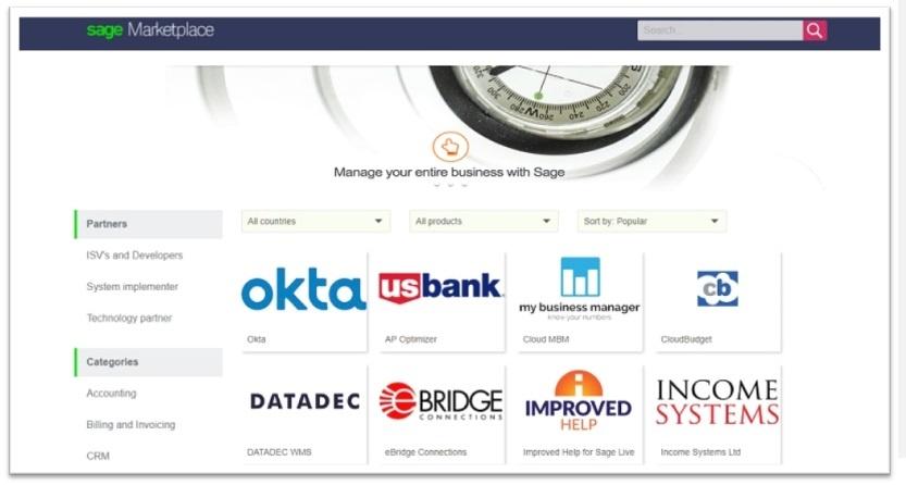 DATADEC se posiciona en el SAGE MARKETPLACE desde el 30 de junio de 2017.