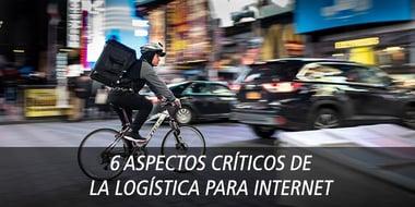 aspectos críticos logistica internet