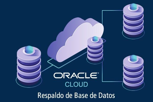 oracle cloud respaldo de base de datos en tiempo real
