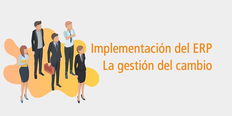 implementacion erp gestion cambio