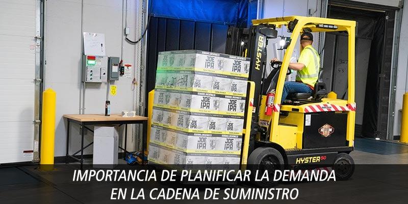 planificar demanda cadena suministro