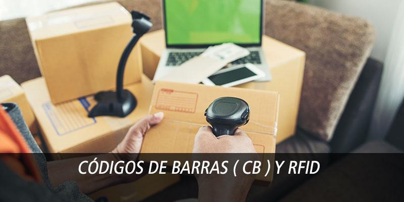 Códigos de barras ( CB ) y RFID