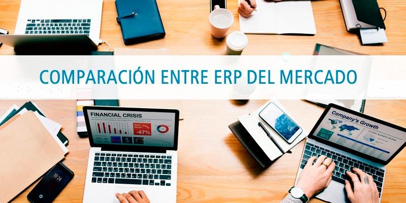 COMPARACIÓN ENTRE ERP DEL MERCADO