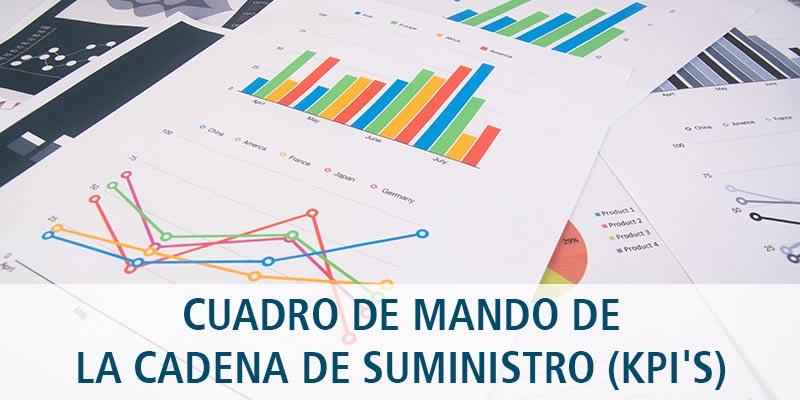 CUADRO DE MANDO DE LA CADENA DE SUMINISTRO (KPI'S)
