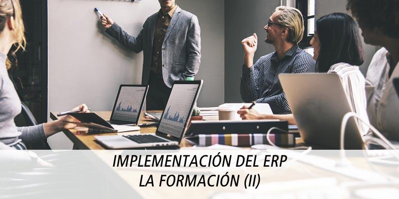 IMPLEMENTACIÓN DEL ERP - LA FORMACIÓN (II)