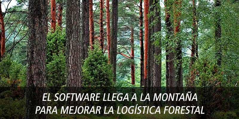 El software llega a la montaña para mejorar la logística forestal