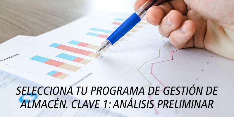 SELECCIONA TU PROGRAMA DE GESTIÓN DE ALMACÉN. CLAVE 1