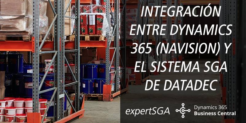 INTEGRACIÓN ENTRE DYNAMICS 365 (NAVISION) Y EL SISTEMA SGA DE DATADEC