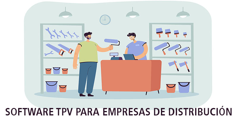 SOFTWARE TPV PARA EMPRESAS DE DISTRIBUCIÓN